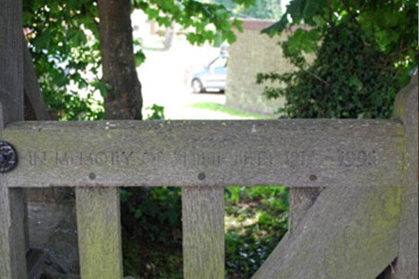Church gate image