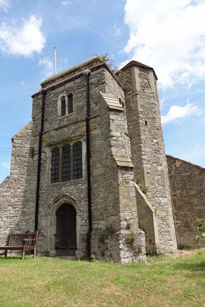 Church tower image