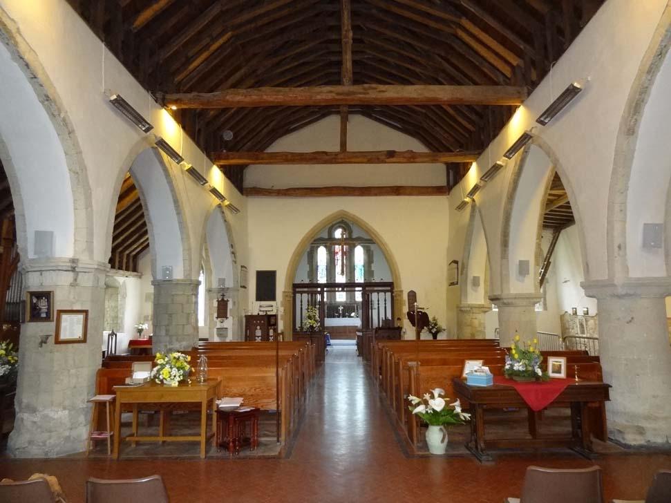 Church interior image