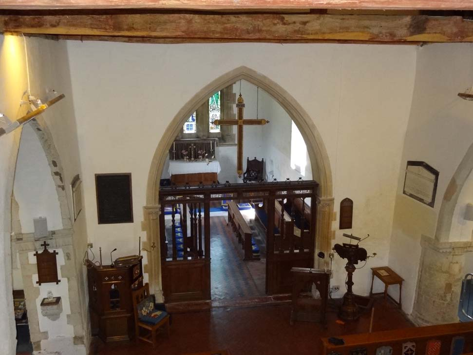 Chancel arch gallery image