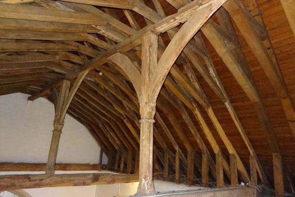 Roof beams image