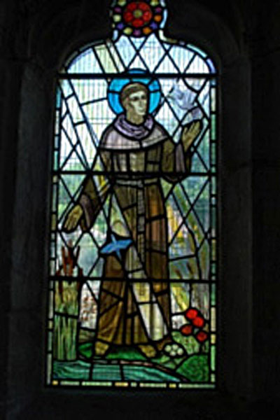 St Francis window image
