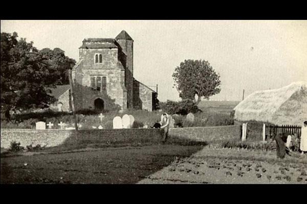 Stoke Church 1940s image