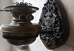Old Gas Lamp fitting image
